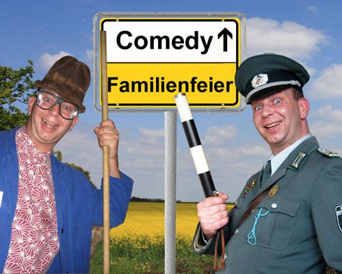 Comedy und Einlagen für Familienfeiern