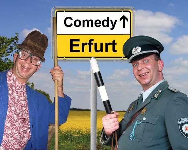 Comedian, Alleinunterhalter und Komiker in Erfurt