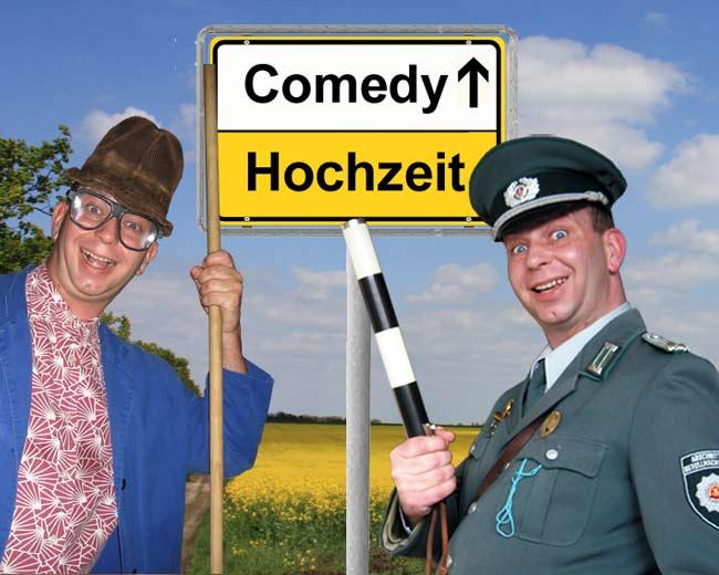 lustige Comedy-Einlage zur Hochzeit