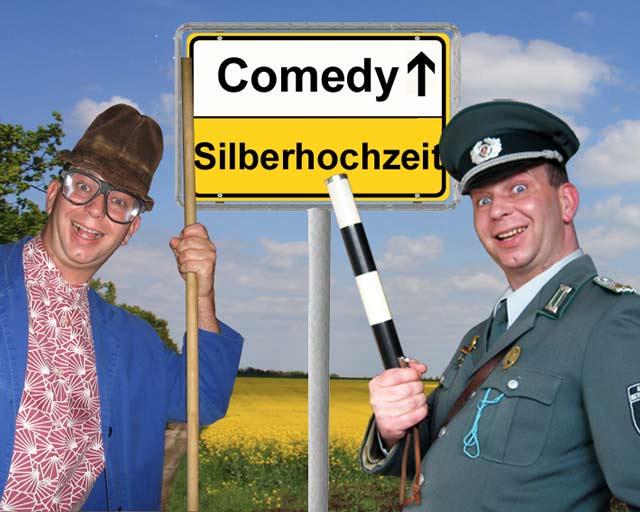 lustige Comedy-Einlagen zur Silberhochzeit