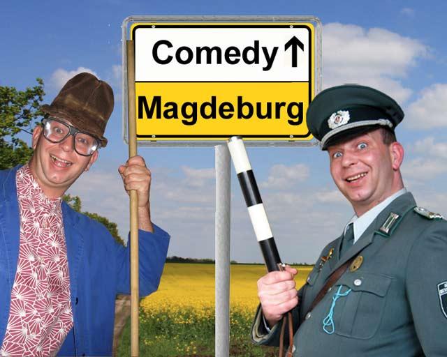 Komiker und Comedy-Alleinunterhalter in Magdeburg