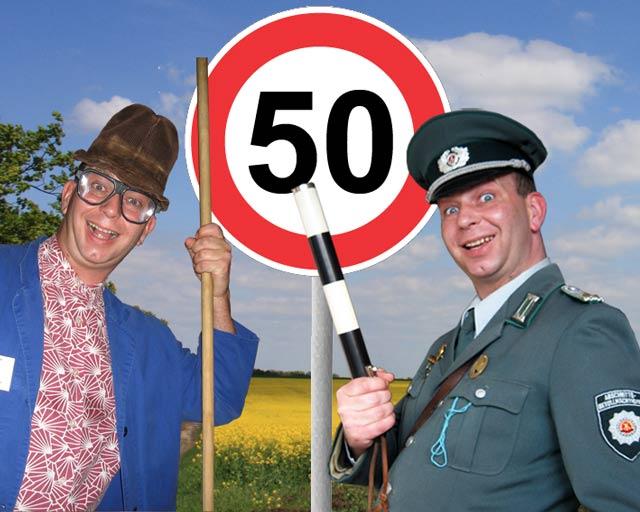 Unterhaltung zum 50. Geburtstag
