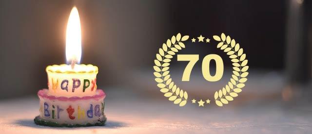 Unterhaltung und Einlagen zum 70. Geburtstag