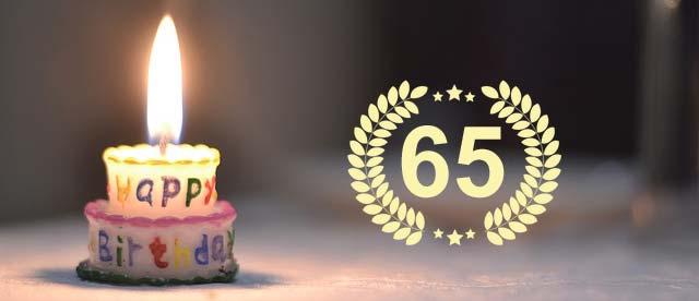 Show, Unterhaltung und Comedy-Einlagen zum 65. Geburtstag