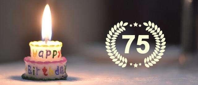 Unterhaltung zum 75. Geburtstag