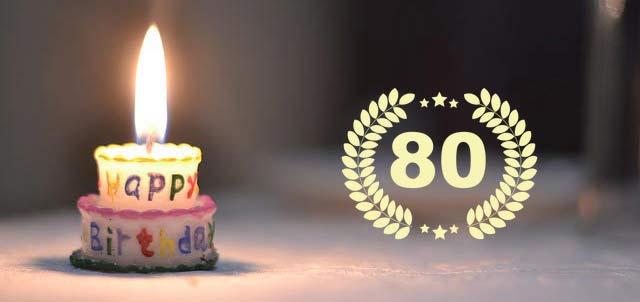 Unterhaltung und Einlagen zum 80. Geburtstag