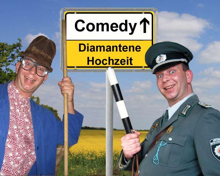 Comedy Alleinunterhalter und Komiker für Diamantene Hochzeit