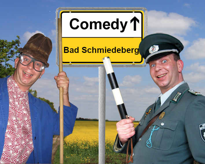 Komiker und Comedy Alleinunterhalter in Bad Schmiedeberg